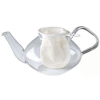 Filtre à thé chaussette en coton x1
