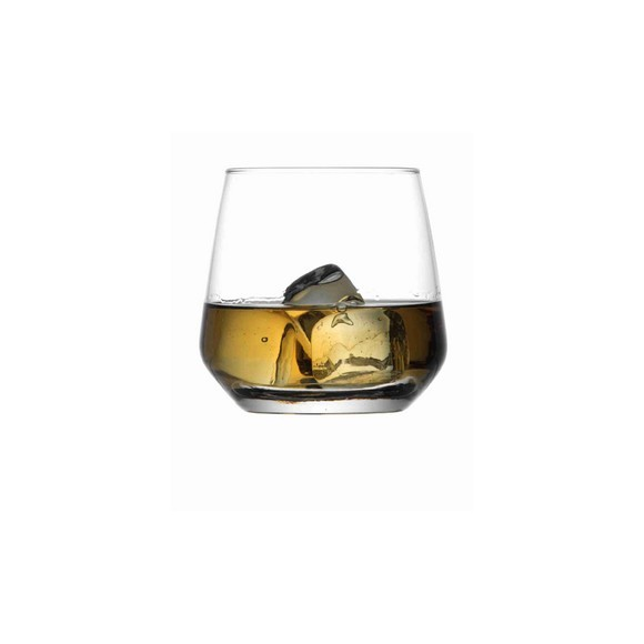 6 verres à whisky en verre Lal 34,5cl