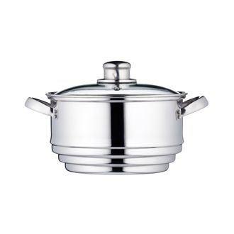 Bol pour cuisson vapeur universel en inox