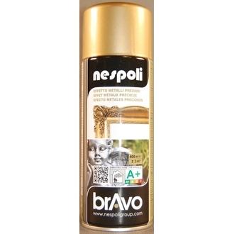 NESPOLI - Peinture professionnelle aérosol or en spray 400 ml