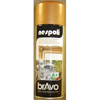 NESPOLI - Peinture professionnelle aérosol or antique en spray 400 ml