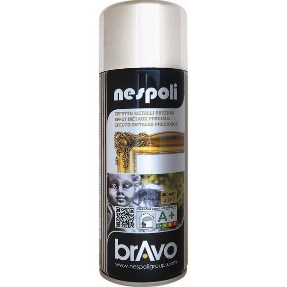 Peinture professionnelle aérosol chrome argent spray 400 ml