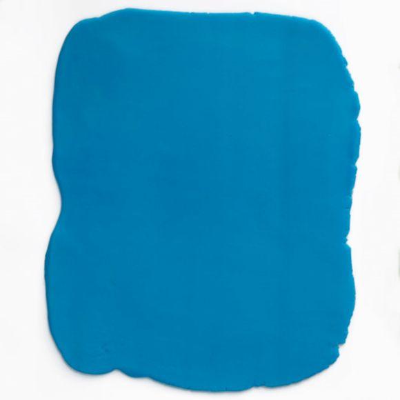 Pâte à sucre bleu aromatisée vanille 250g