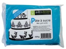 Achat en ligne Pâte à sucre bleu aromatisée vanille 250g