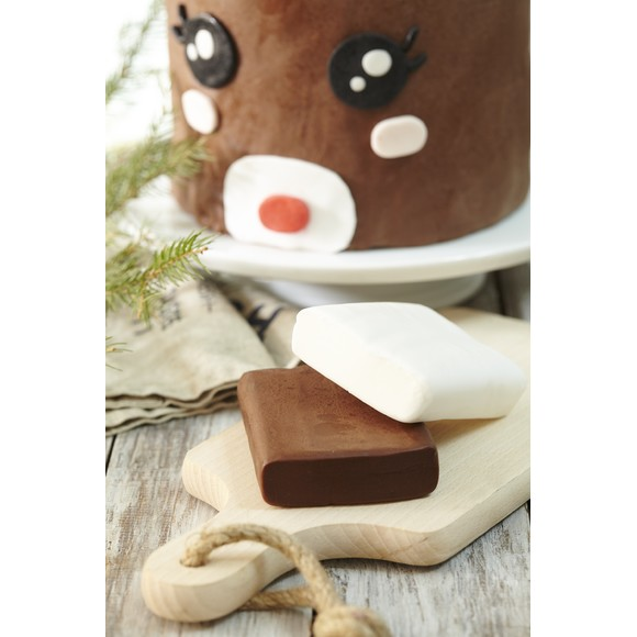 Pâte à sucre chocolat aromatisée chocolat 250g