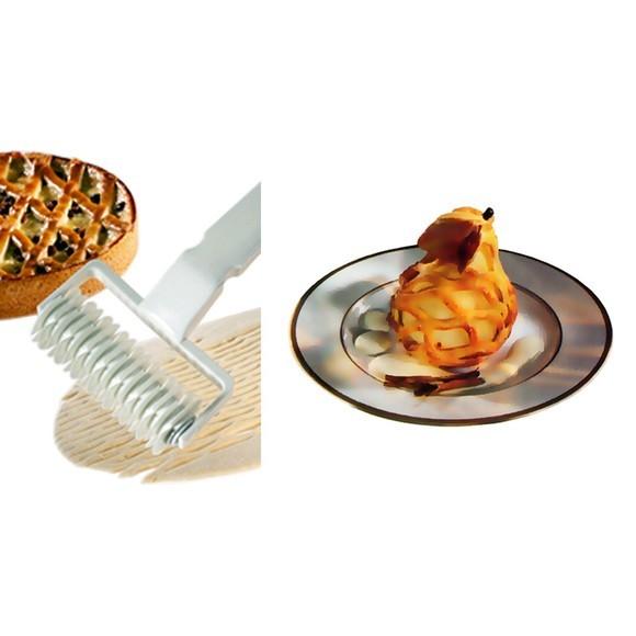 Rouleau losange à décor croisillons