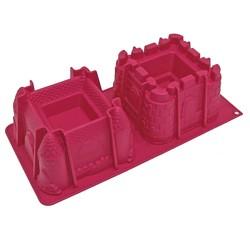 Achat en ligne Moule 3D château en silicone 37x17cm