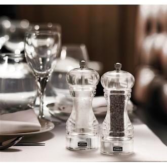 Moulin à sel en acrylique 15cm