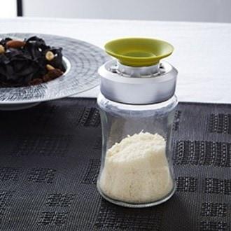 TRUDEAU - Saupoudreur à parmesan en plastique 13,5cm