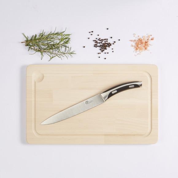 Coltello da cucina forgiato con lama in acciaio inossidabile 20cm
