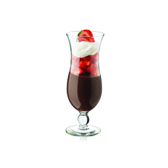 Verre à cocktail Squall Hurricane en verre transparent 44cl