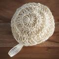 Eponge exfoliante moyen et fort en sisal