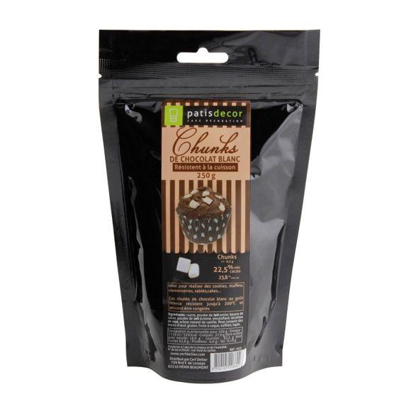 compra en línea Virutas de chocolate blanco para hornear (250 gr)