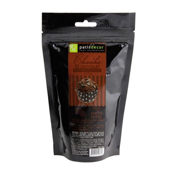 compra en línea Chocolate en trozos o virutas para muffins Patisdecor (250 gr)