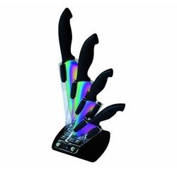 compra en línea Bloque + 4 cuchillos bañados en titanio Pradel Excellence