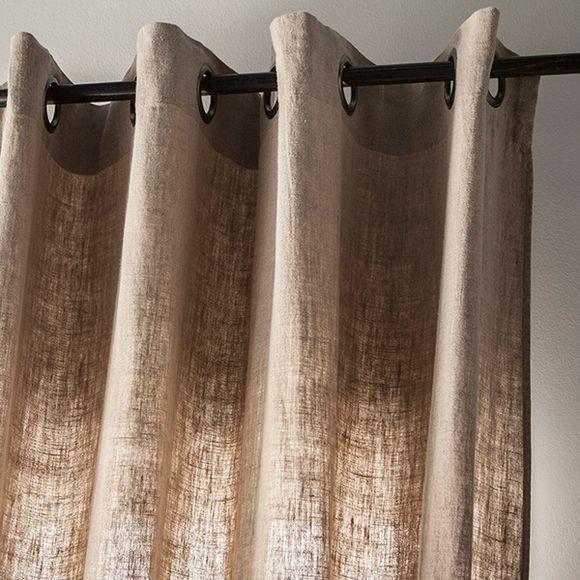 Tenda Propriano naturale in lino 140x280cm