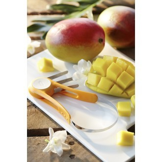 CHEF'N - Découpe mangue orange