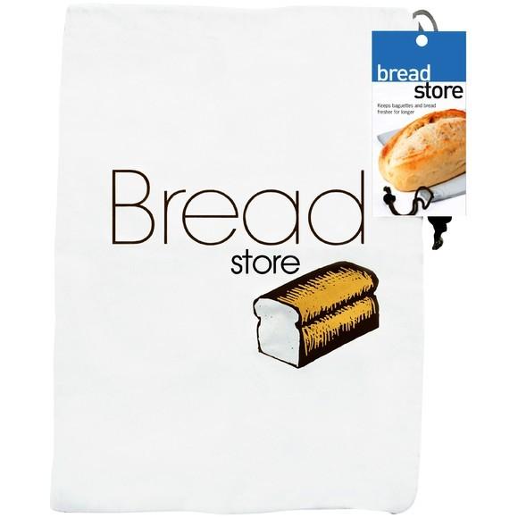 acquista online Sacchetto per pane in tessuto bianco