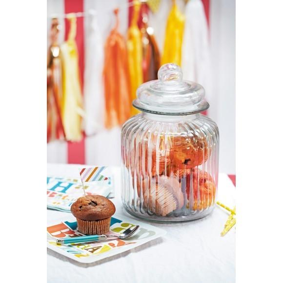 Pot à biscuits en verre Nostalgie 4,8L