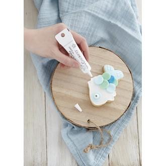 Scrapcooking - stylo glaçage blanc goût vanille 23g