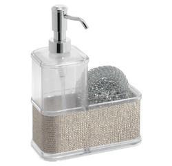 compra en línea Dispensador de jabón líquido y esponja metálica (350 ml)