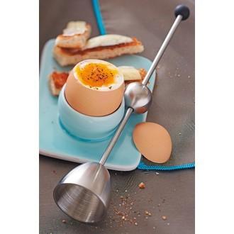 MAT FER - Toqueur à œufs en inox Clack