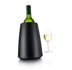compra en línea Cubitera de hielo rápido para botella negra