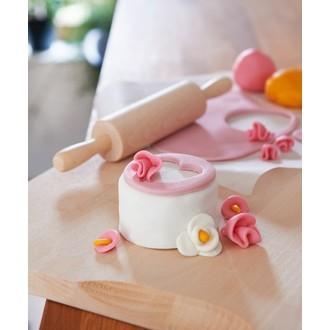 PATISDECOR - Pâte à sucre blanc aromatisée vanille 1kg