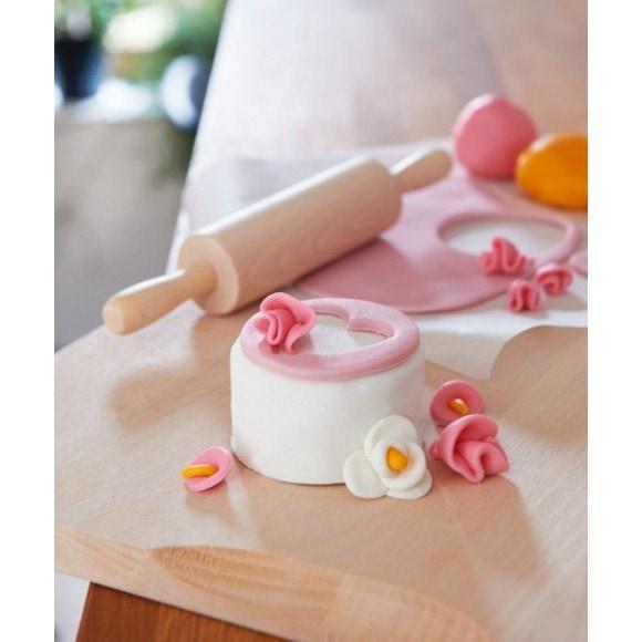 Achat en ligne Pâte à sucre blanc aromatisée vanille 1kg