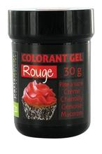 Achat en ligne Colorant alimentaire en gel rouge 30g