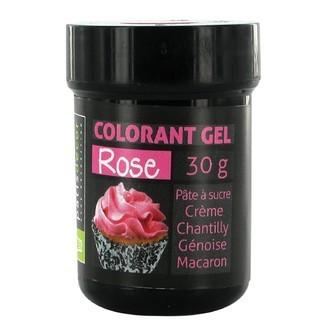 Colorant alimentaire en gel rose 30g