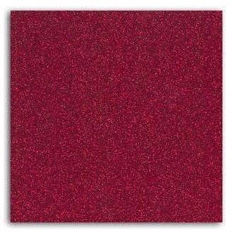 TOGA - Feuille thermocollante pailletée rouge format A4