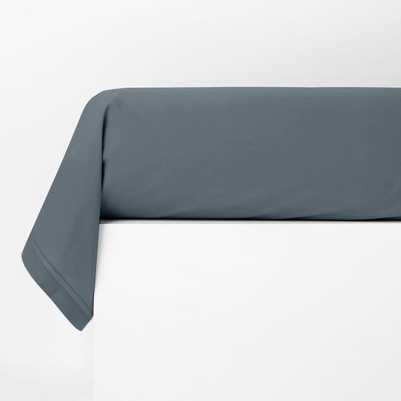 Taie de traversin rectangle en percale bluet 44x185cm