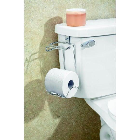 Dérouleur papier toilette + support pour 1 rouleau