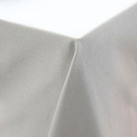 Nappe rectangulaire avec bande satin blanche 150x250cm