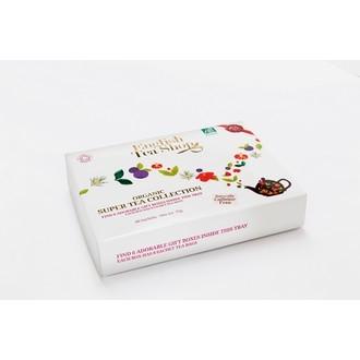 ENGLISH TEA SHOP - Coffret 6 thés/infusions Super fruit 48 sachets