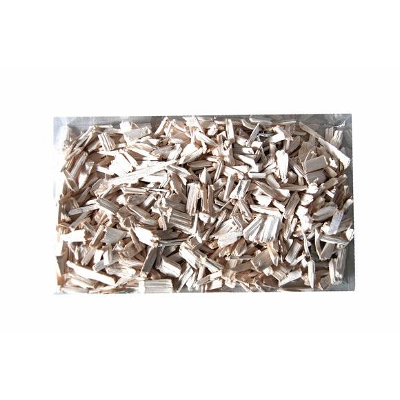 Achat en ligne Pellets bois décoratifs pour composition florale blanc 200gr