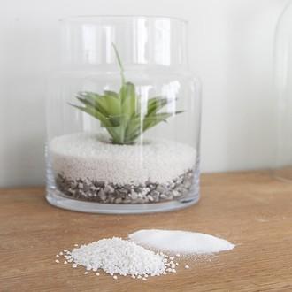 Sable décoratif blanc en seau 1,45kg