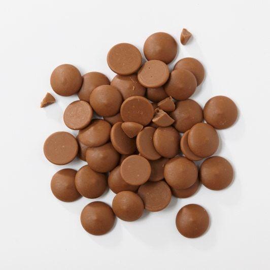 Chocolat de couverture lacté caramel en pistoles 1kg