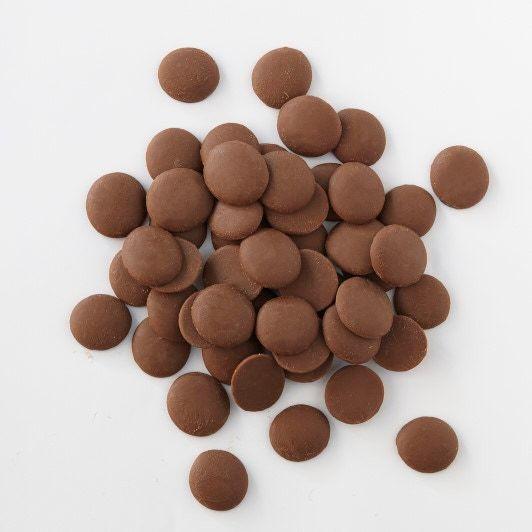 Chocolat de couverture au lait de Ghana en pistoles 1kg