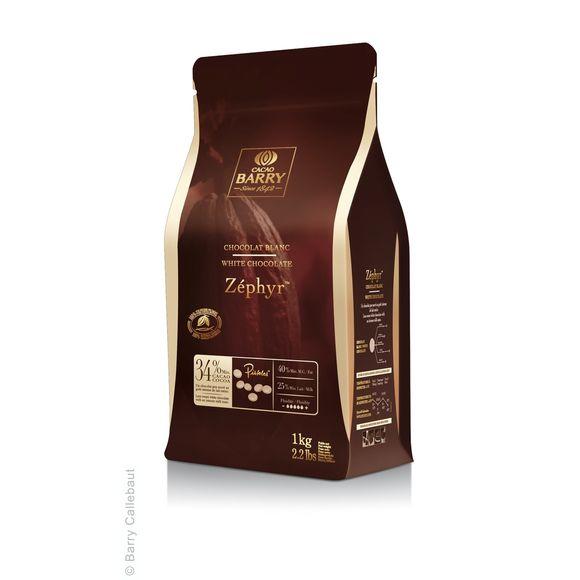31ba50d1300c38 BARRY - Chocolat de couverture blanc en pistoles Zephyr 1kg Pas cher ...