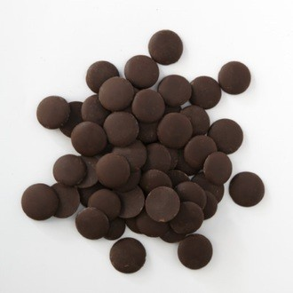 Chocolat de couverture noir de Cuba en pistoles 1kg