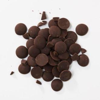 Chocolat de couverture noir d'equateur en pistoles 1kg
