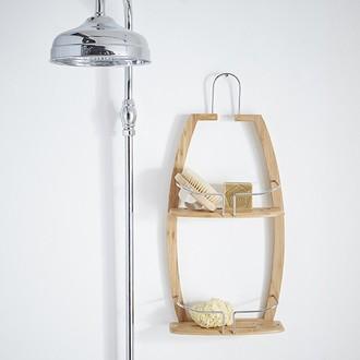 Serviteur de douche en bambou