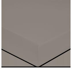Achat en ligne Drap housse en coton grande épaisseur cendre 160x200cm