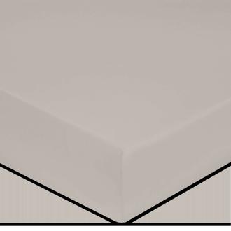 Drap housse en coton grande épaisseur glaise 160x200cm