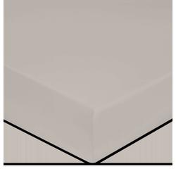 Achat en ligne Drap housse en coton grande épaisseur glaise 160x200cm