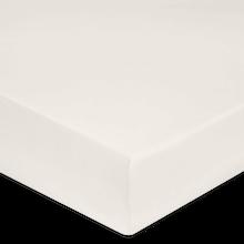 Achat en ligne Drap housse en coton beige 90X190cm