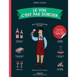Marabout - livre le vin c'est pas sorcier
