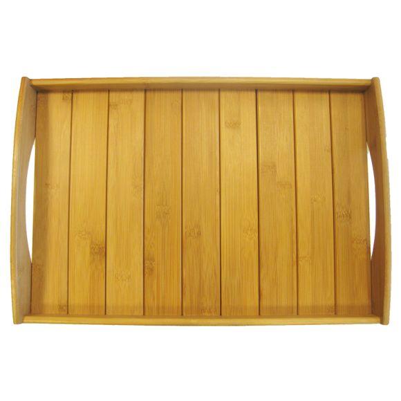 Vassoio in fibra di bambù 48x33cm
